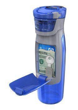 Kangaroo Bottle Holds Your Keys / Money Too