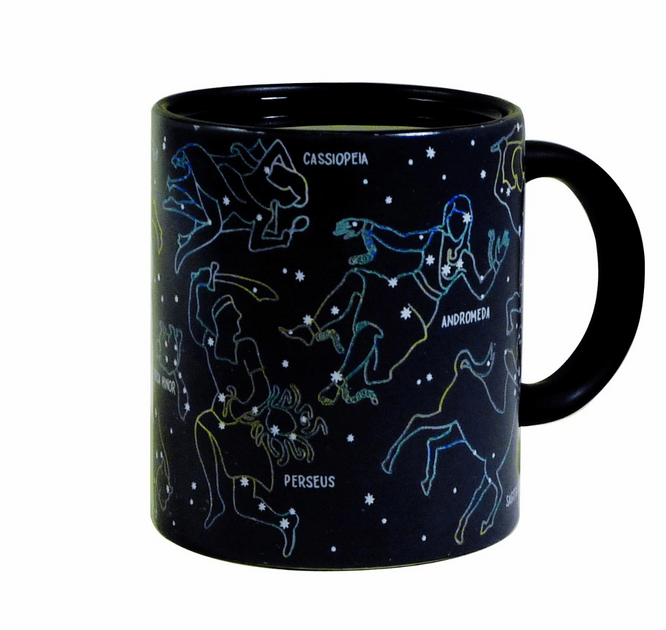 Constellation Mug Reacts To Your Hot Drink