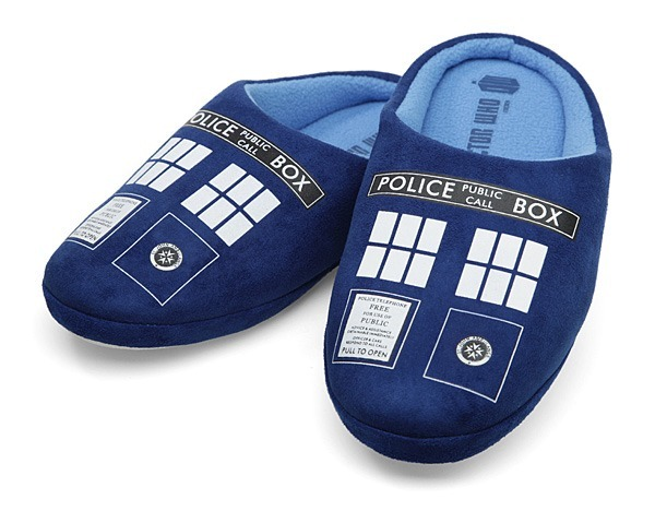 doctor who slippers
