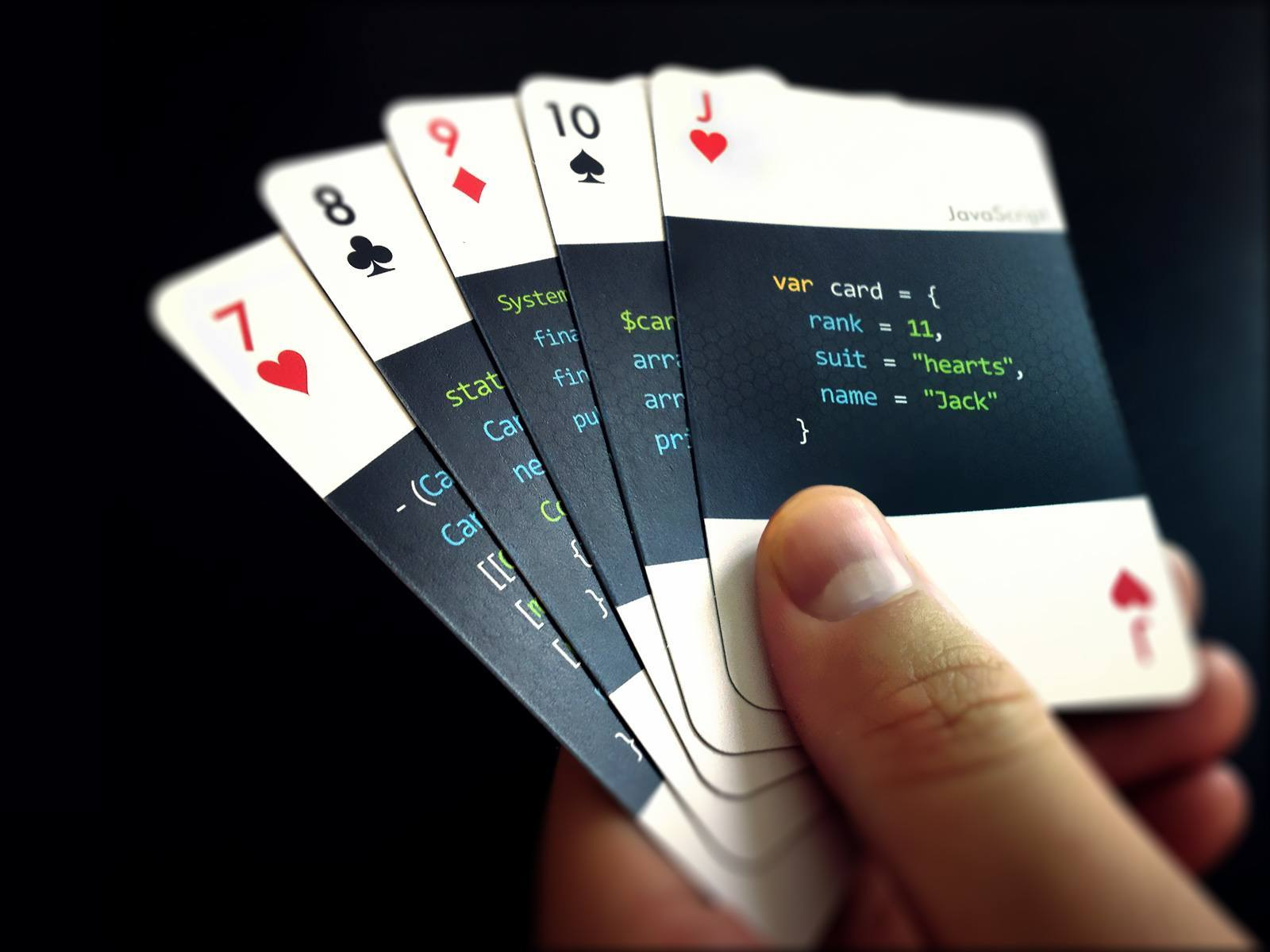 Code Deck Playing Cards For Developers Gadgetify Com