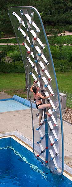 Aquaclimb Climbing Wall For Your Pool