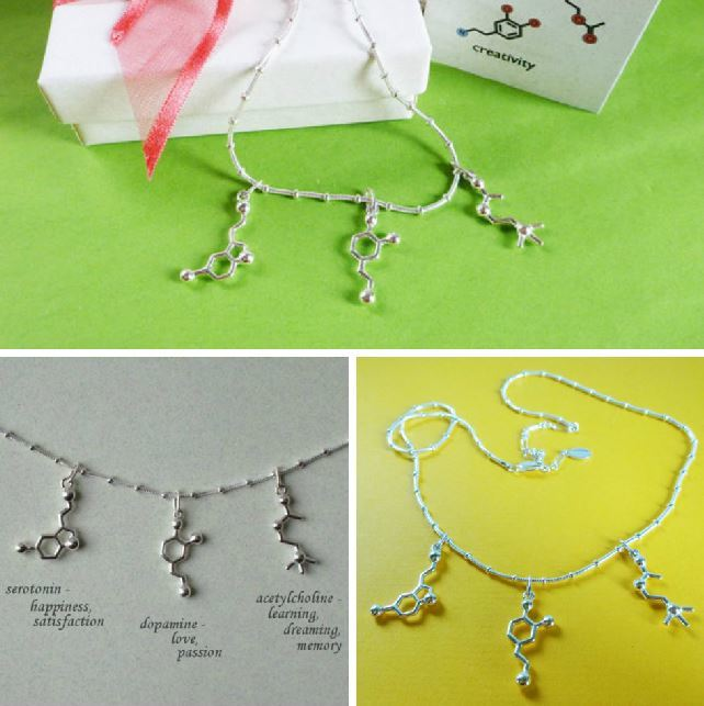 chemistry necklace
