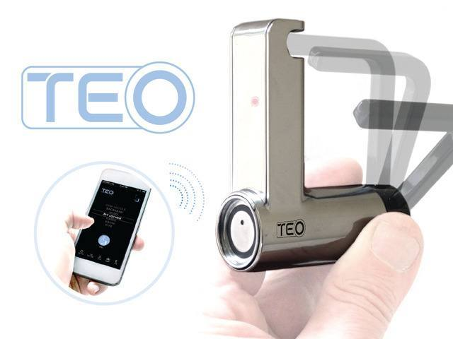 TEO: Key-less Padlock with Smartphone Support