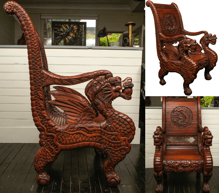 dragon chair