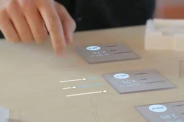 Thermal Touch Augmented Reality: Touchscreen Anywhere