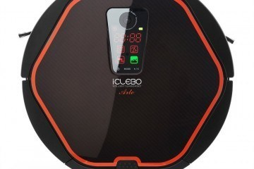 iCLEBO Arte Vacuum Cleaner & Floor Mopping Robot