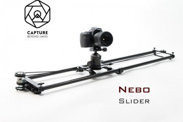 Nebo Motion Controlled Slider for Outdoor Photography