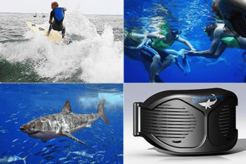 SharkStopper Acoustic Shark Repellent Protects Sharks & You