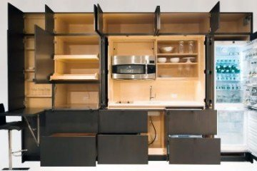 YesterTec Stealth Modular Kitchens