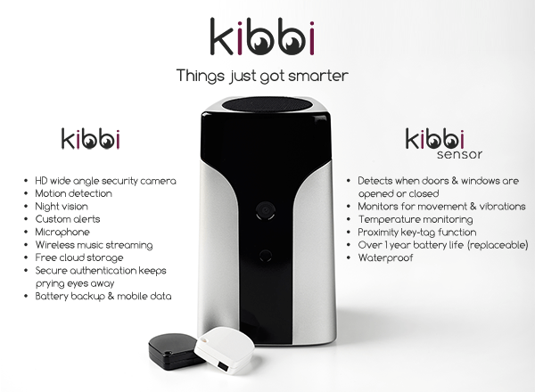 Kibbi: Smart Home Security System