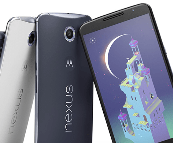 Nexus 6 Phablet with Android 5 Lollipop