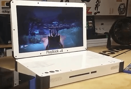 PLAYBOOK 4: The PS4 Laptop