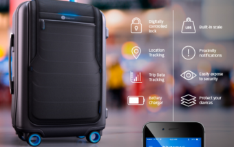 Bluesmart Suitcase: Scale + Lock + Locator [iOS/Android]