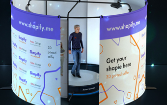 Shapify: Artec 3D Full Body Scanning Booth