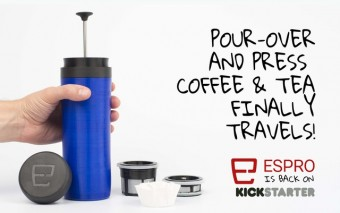 ESPRO Travel Press for Pour-over Coffee & Tea