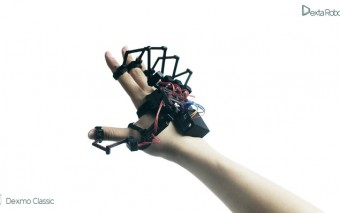 Dexmo: Exoskeleton To Touch the Digital World