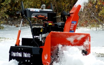 Remote Control 4WD Robot with Snow Blower