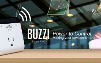 BUZZI Wireless Smart Plug for Home Automation