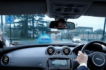 Jaguar Land Rover: 360 Virtual Urban Windscreen