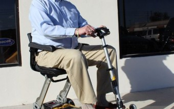 LUGGIE ELITE Electric Mobility Scooter for Seniors