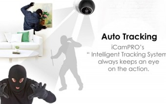 iCamPRO FHD: Intelligent Home Security Robot