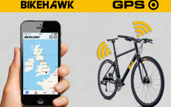 Bike Hawk GPS Tracker + App + Cycling Computer