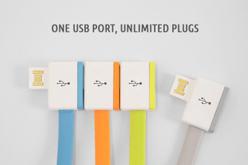 InfiniteUSB: Chain of USB Ports for Your Gadgets
