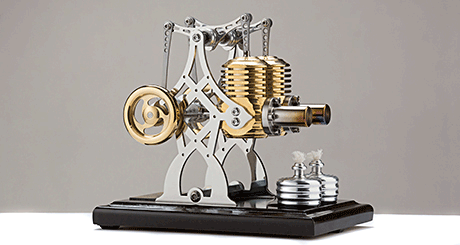 the description of the stirling engine invented by robert stirling in 1816
