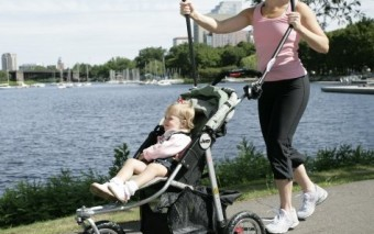 Love Handles Elliptical Trainer for Baby Strollers