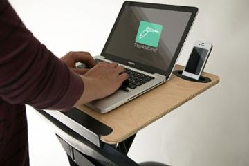 StorkStand Standing Desk For Your Chair
