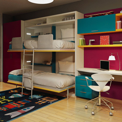 Space-saving-Tuckin-bunk-bed