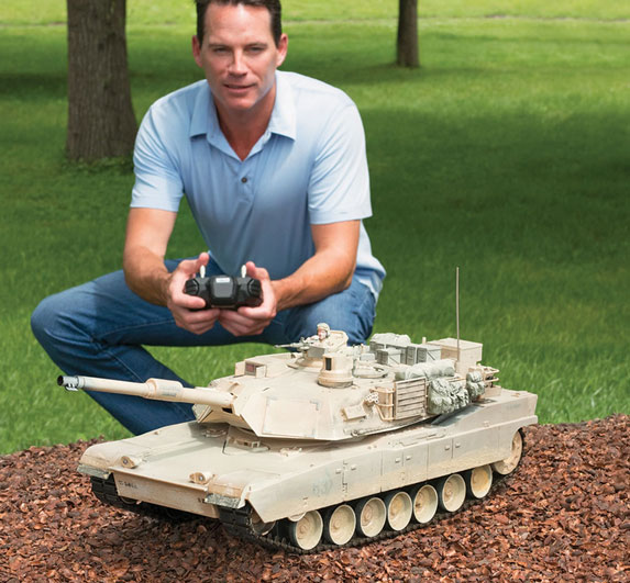 Remote-Controlled-Abrams-Tank